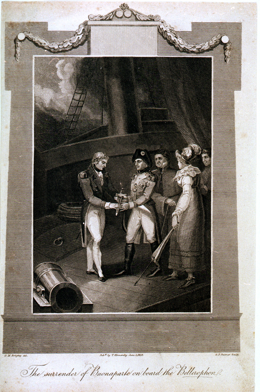 English Sir, after drinking brandy, surrenders